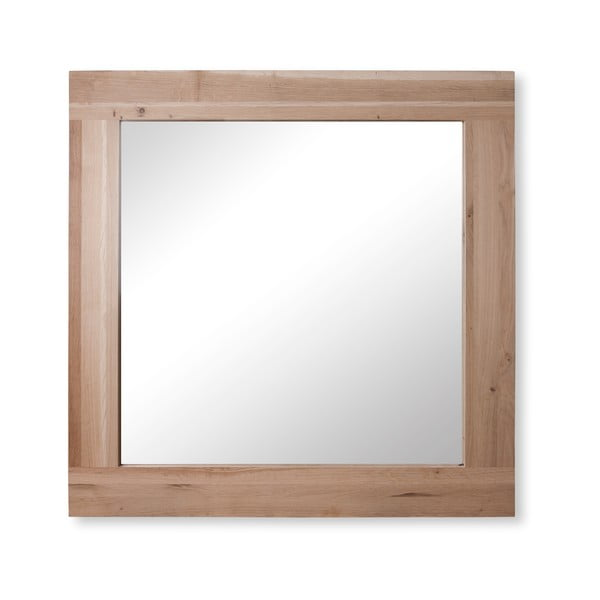Zrcadlo Raw Oak, 70x60 cm