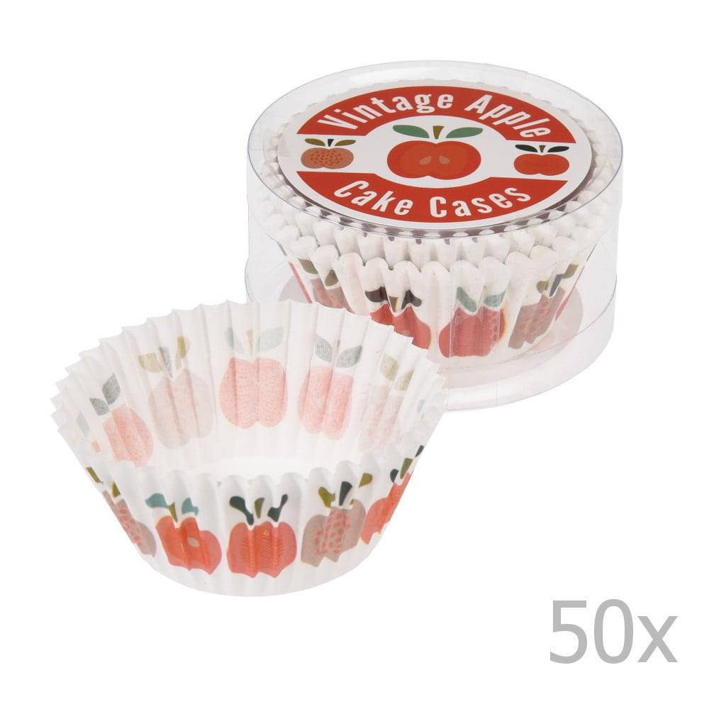 Sada 50 košíčků na muffiny Rex London Vintage Apple