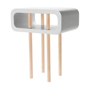 Odkládací stolek Open Medium Light Grey