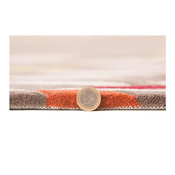 Koberec Flair Rugs Swirl Ochre/Red, 160 x 230 cm