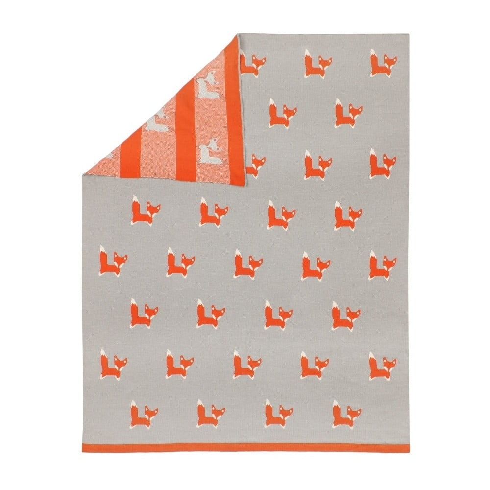 Dětská deka Art For Kids Fox, 80x100cm