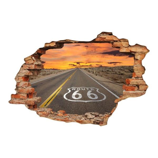 Route 66 falmatrica, 60 x 90 cm - Ambiance