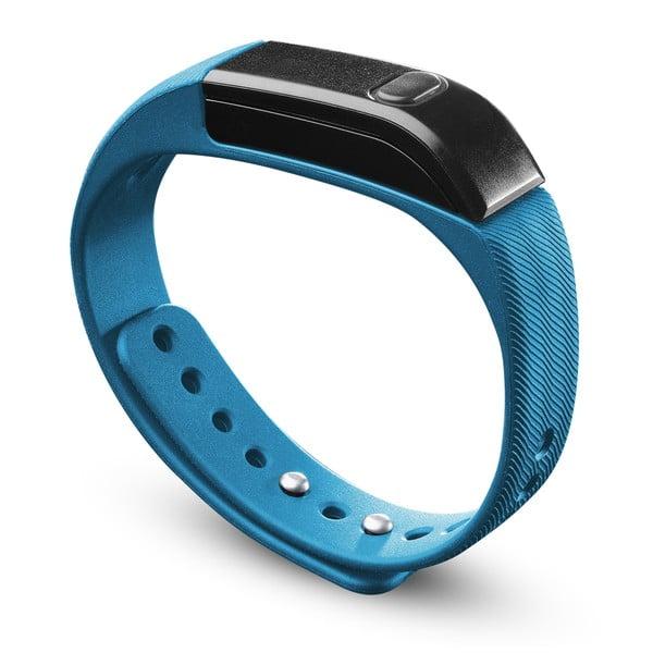 Bluetooth fitness náramek CellularLine EASYFIT, modro-černý