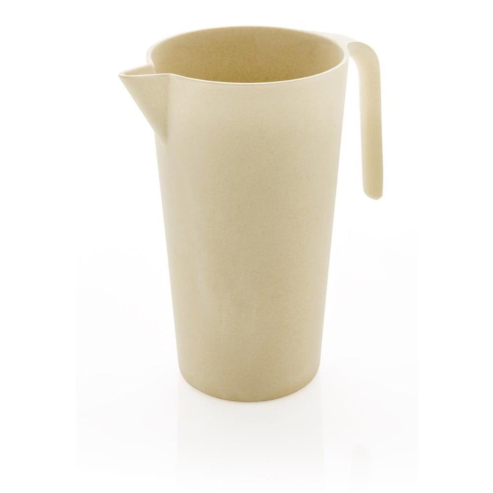 Bílá bambusová karafa XD DesignCollection, 1,7l