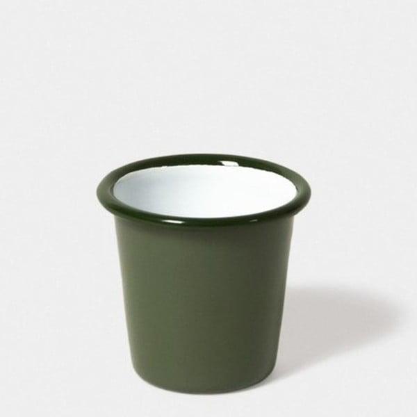 Pahar smălțuit Falcon Enamelware, 124 ml, verde deschis