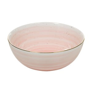 Růžová porcelánová mísa Santiago Pons Bol, ⌀22cm