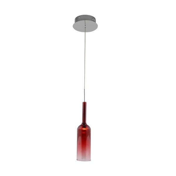 Závěsné světlo Bottle Red