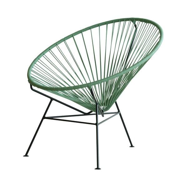 Křeslo Condesa, zelené, délka 78 cm