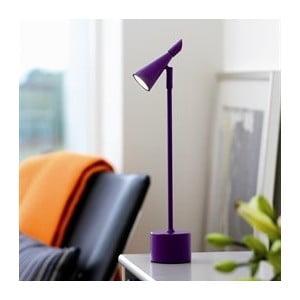 Stolní lampa Neptun, fialová