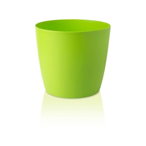 Zielona doniczka na kółkach Gardenico Ella Twist'n'Roll Smart System, ø 40 cm