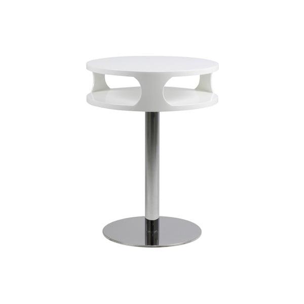 Konferenční stolek Caspian, výška 60 cm, bílý