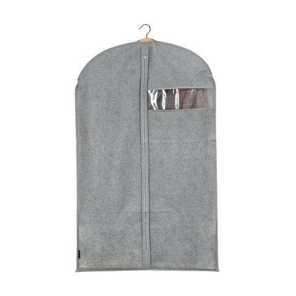 Sivý obal na oblek Domopak Stone