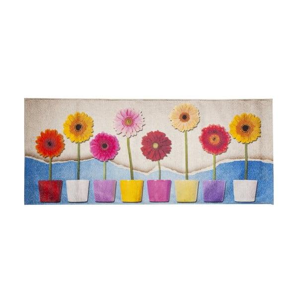 Vysoce odolný kuchyňský běhoun Webtappeti Spring, 60x150 cm