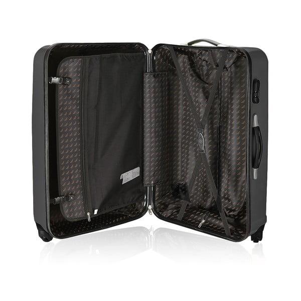Sada 3 cestovních zavazadel Valises Black