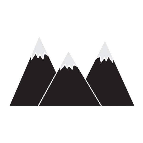 Nástěnná samolepka Dekornik Black Mountains, 180x100cm