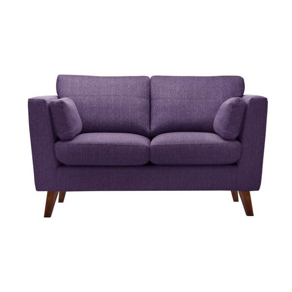 Sada fialového křesla a dvoumístné a trojmístné pohovky Jalouse Maison Elisa