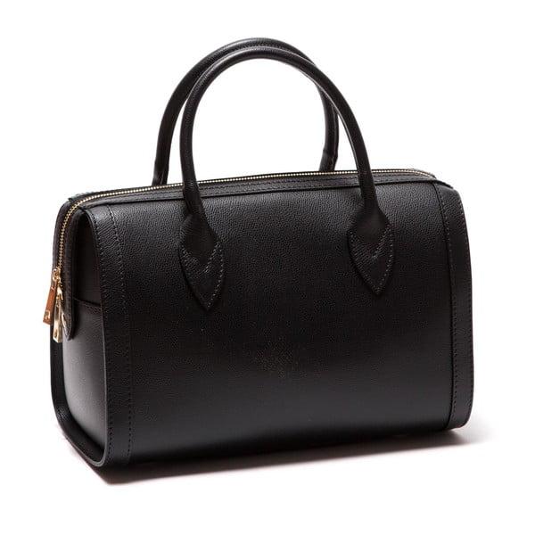 Černá kožená kabelka Sofia Cardoni Iniga