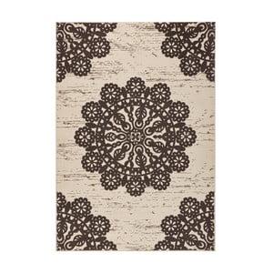 Hnědý koberec Hanse Home Gloria Lace, 160x230cm