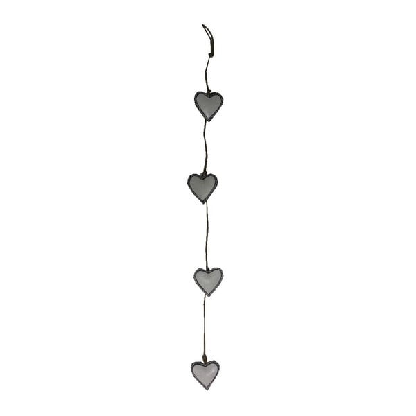 Závesná dekorácia Antic Line Four Hearts