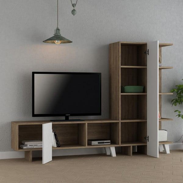 TV stolek Homitis Cago Light Oak