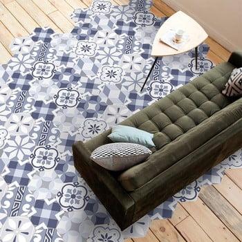 Set 10 autocolante impermeabile pentru podea Ambiance Valerinio, 20 x 18 cm de la Ambiance