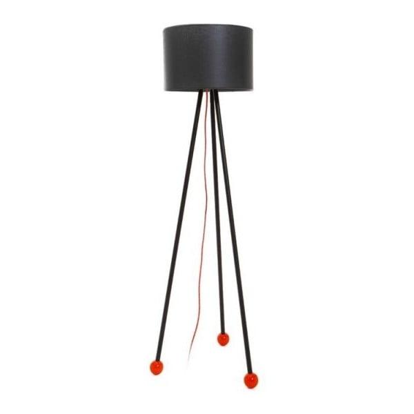 Stojací lampa Morello Black/Black