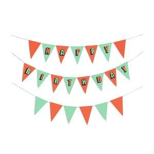 Párty vlaječky Birthday