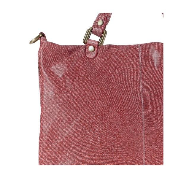 Kožená kabelka Ore Diece Affile, červená