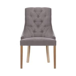 Šedohnědá židle Jalouse Maison Chiara