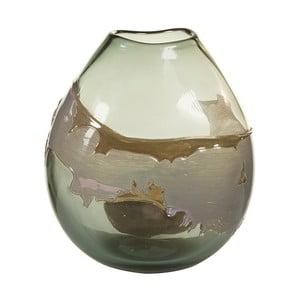 Ručně vyráběná křišťálová váza Santiago Pons Forest, výška26cm