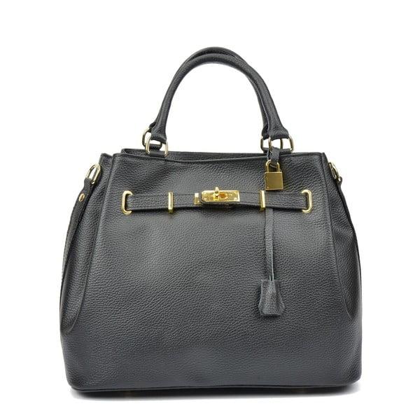 Černá kožená kabelka Isabella Rhea Christian