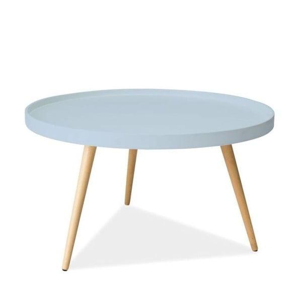 Konferenční stolek Toni 78 cm, modrý
