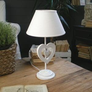 Stolní lampa White Antique, 53 cm