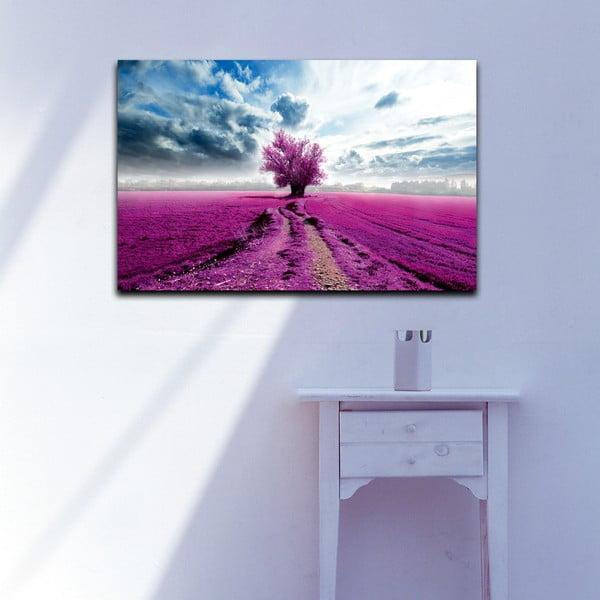 Obraz Levandulové pole, 45x70 cm