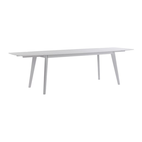 Bílá dřevěná přídavná deska k jídelnímu stolu Folke Sanna, 45x90cm