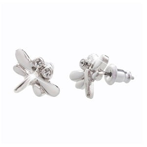 Cercei Swarovski Elements Laura Bruni Dragonfly Duo Puro
