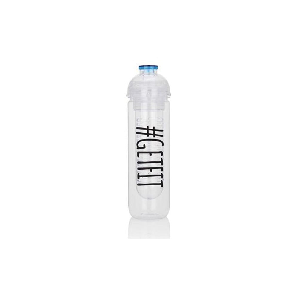 Motivační lahev se sítkem na ovoce XD Design Get fit, 500 ml