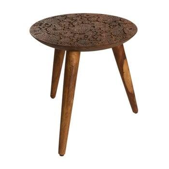 Scăunel din lemn Dutchbone Hand