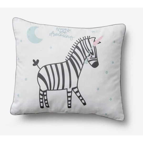 Zebras gyerekpárna, 45 x 50 cm - Pinio