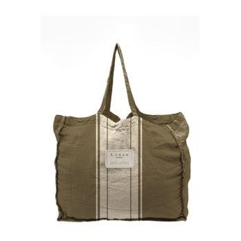 Geantă textilă Linen Dark Grey, lățime 50 cm imagine