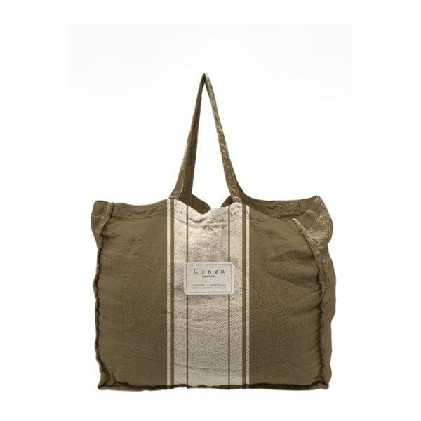 Geantă textilă Linen Dark Grey, lățime 50 cm