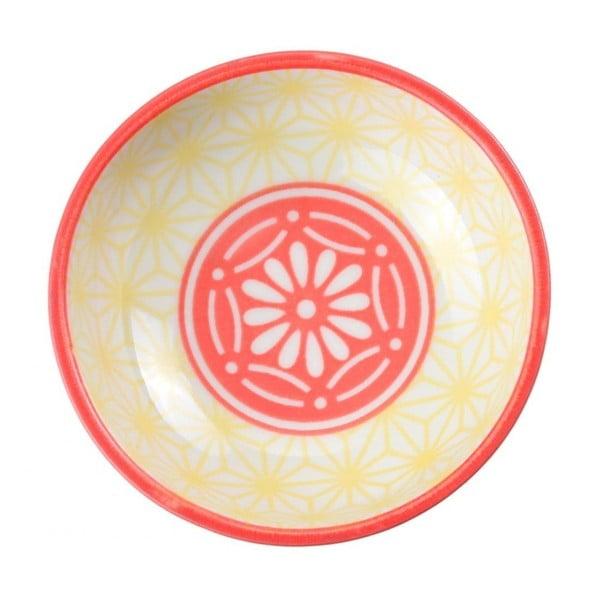 Bol din porțelan Tokyo Design Studio Star, ⌀ 9,5 cm, galben