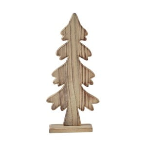 Statuetă decorativă KJ Collection Tree Natural Wood, 25 cm