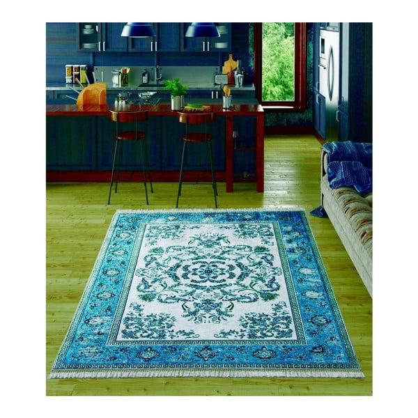 Dětský koberec Bergama Dark Blue, 80x150cm