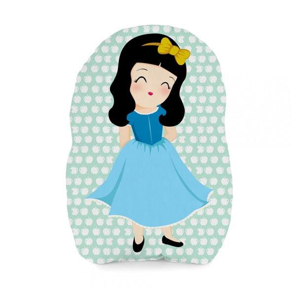 Poduszka bawełniana Mr. Fox Snow White, 40x30 cm
