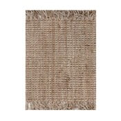 Jutový koberec Linie Design Surface Natural, 130x190 cm