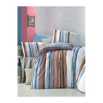 Lenjerie de pat cu cearșaf Seren, 200 x 220 cm de la Victoria