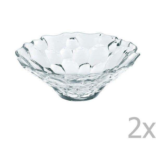 Sada 2 misek z křišťálového skla Nachtmann Sphere Bowl Set, ⌀15cm