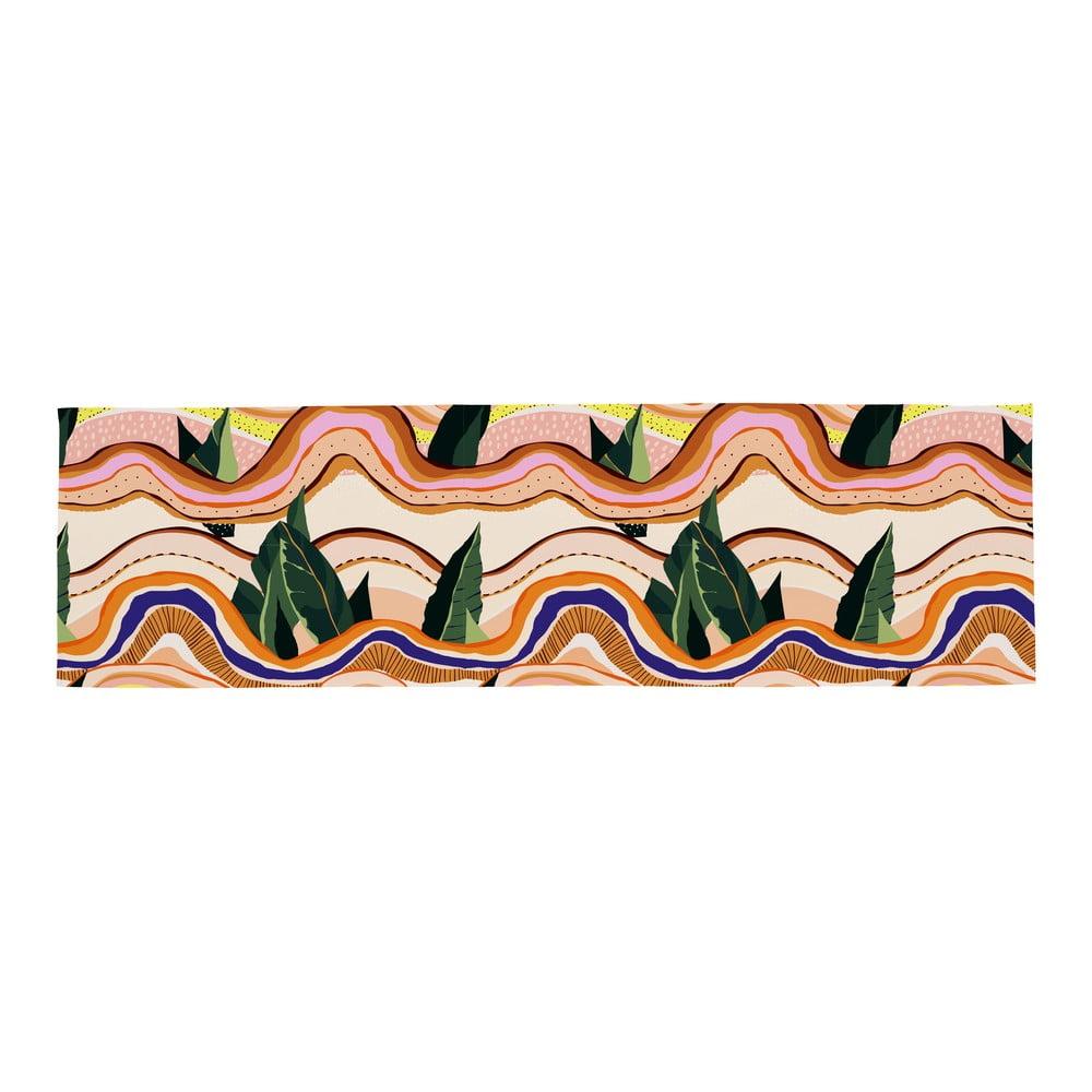 Bavlněný běhoun na stůl Butter Kings Abstract Landscape