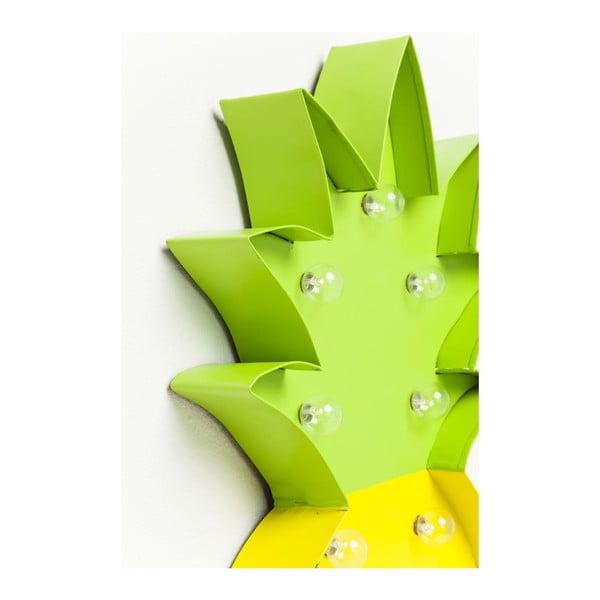 Nástěnná svítící dekorace Kare Design Pineapple